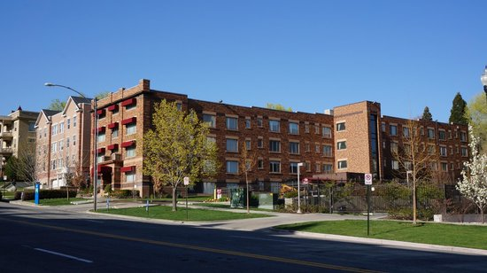 The Kimball Condominiums: View from the street