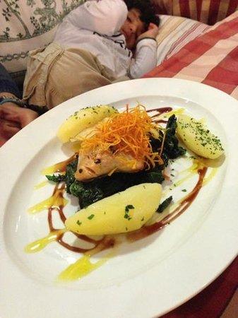 Hotel zum Hirschen : salmon