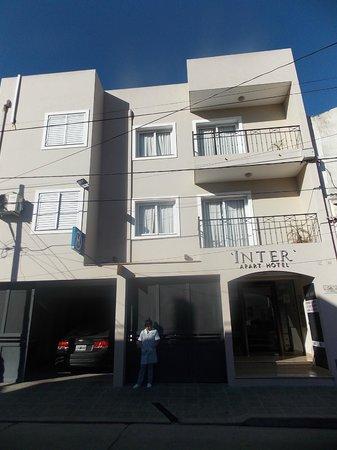 Inter Apart Hotel: Fachada del Inter Apart