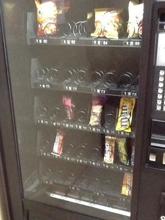 Zermatt Resort & Spa: the 4 days I stayed at the Zermatt this is what the vending looked like!