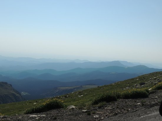 Mount Evans Scenic Byway : view!!
