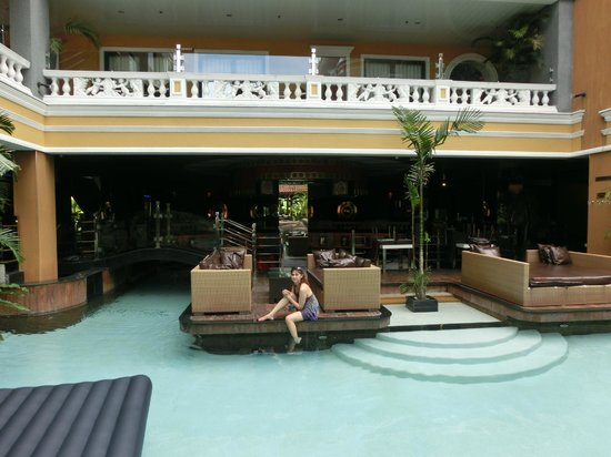ABC Hotel: at the pool