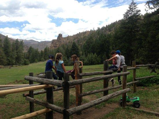 The Historic UXU Ranch: great views