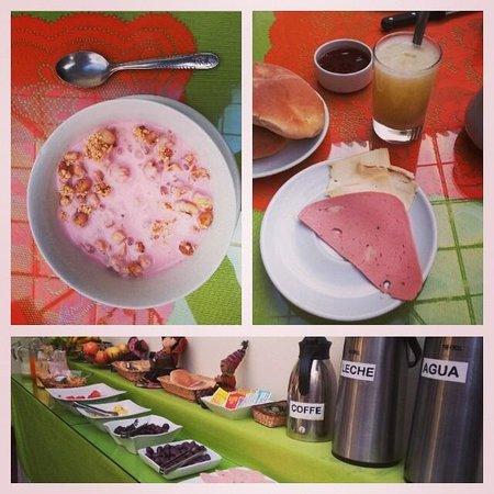 Hostal Monarca: Café da manhã