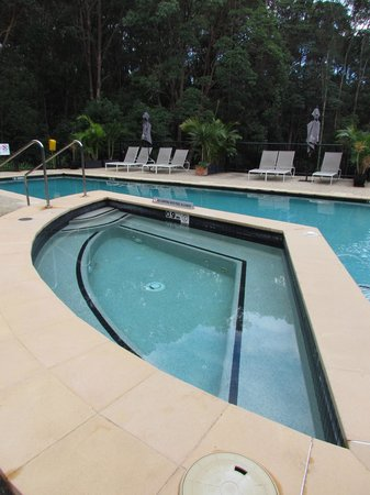 Ramada Resort Coffs Harbour: The pool and spa