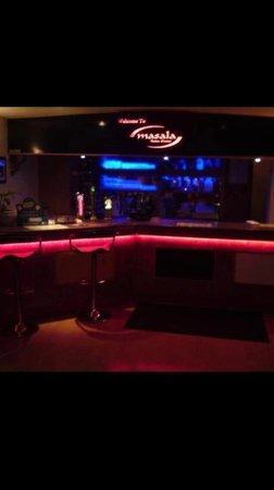 Masala: Bar area