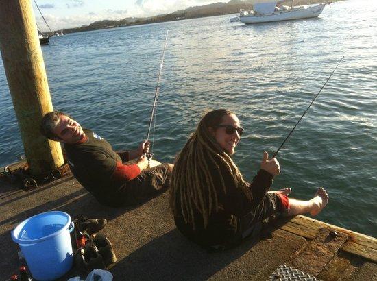 A Kiwi Farmstay : Fishing