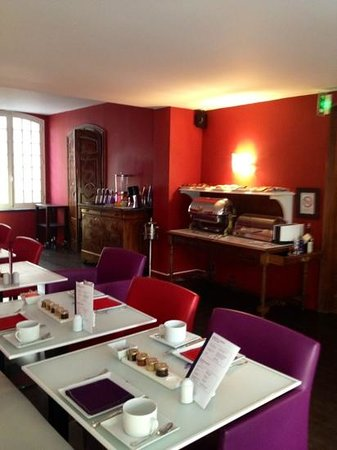 Hotel Cezanne: café da manhã
