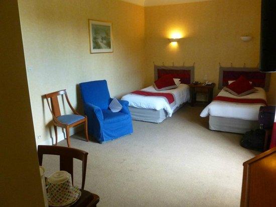 Hotel de La Petite Verrerie: Chambre assez spacieuse et relativement confortable