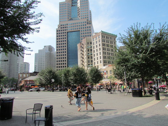 Market Square in Pittsburgh - August 10, 2013