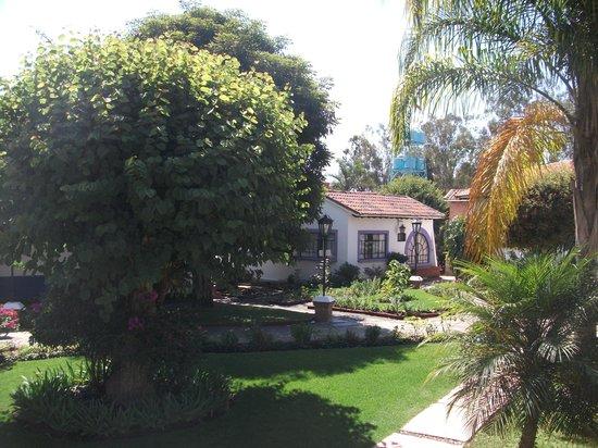 Hotel Bungalows Lolita: Jardín de los bungalows