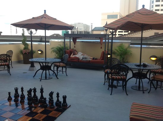 Bluegreen Vacations Club La Pension, Ascend Resort Collection: Rooftop balcony at Club La Pension