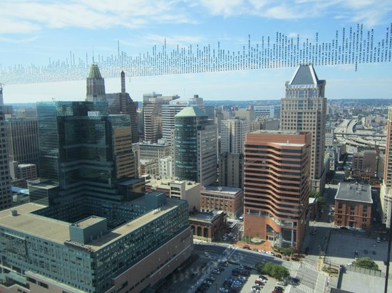 Top of the World Observation Level: Baltimore Skyline