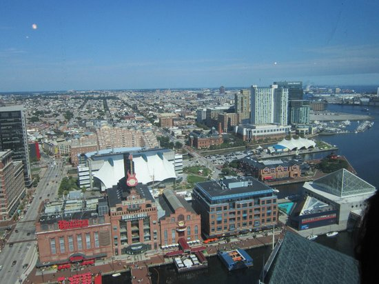 Top of the World Observation Level : Baltimore
