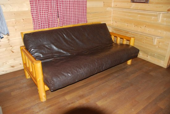 Futon Bed For Tall People Picture Of Manzanita Lake Camping Cabins