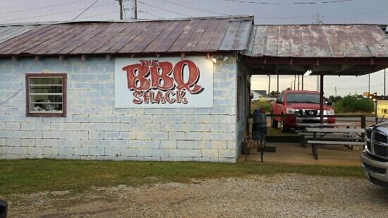 The BBQ Shack: left side view