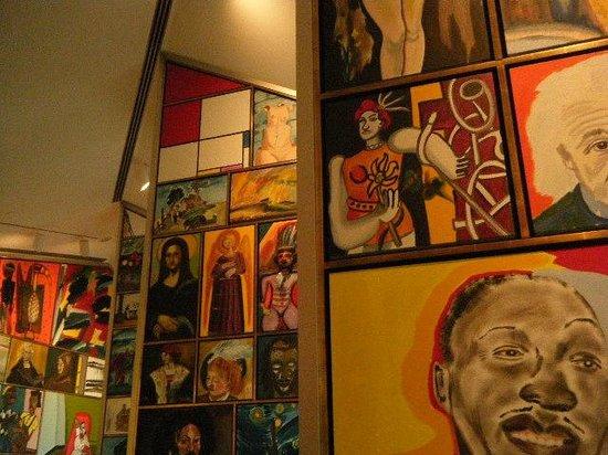 Kemper Museum of Contemporary Art: cafe art