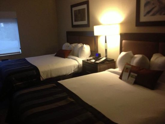 Wingate by Wyndham Chattanooga : A room on the 3rd floor, very nice decor.
