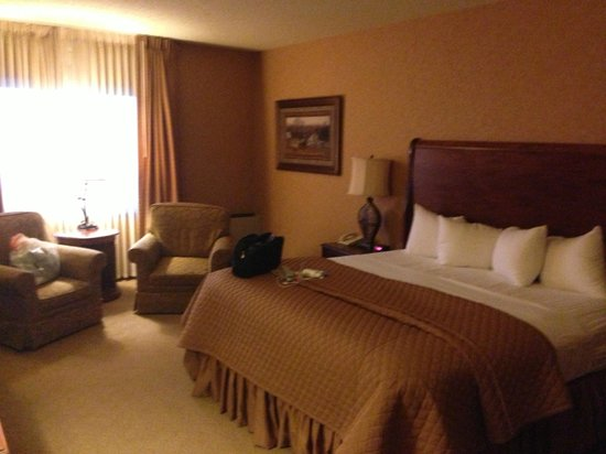 Grand Gateway Hotel: Large King bed room. Very comfortable.