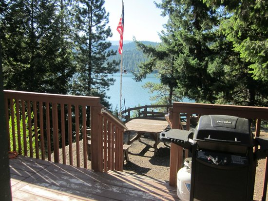 Rimrock Lake Resort: View from private deck