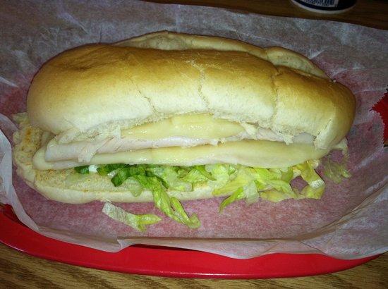 Subby's: Turkey sub.