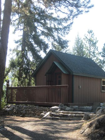 Rimrock Lake Resort: The cabin :-)