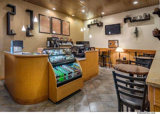 BEST WESTERN PLUS Silverdale Beach Hotel: Hot Java Espresso Stand
