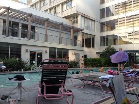 The Chelsea: saltwater pool main floor