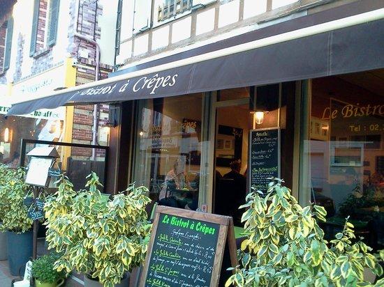 Le Bistrot à Crêpes : devanture du restaurant