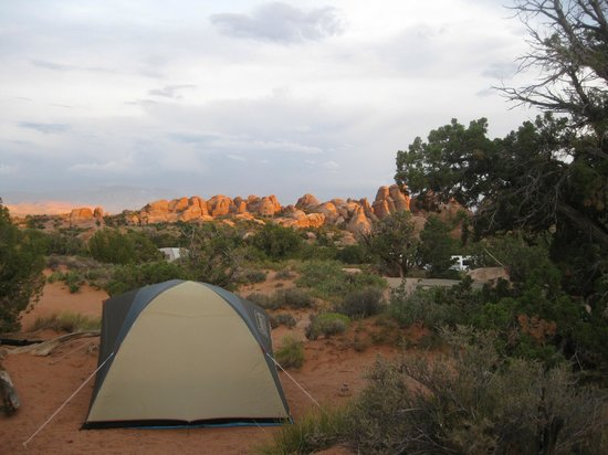 site 26, Devil's Garden Campground, Arches