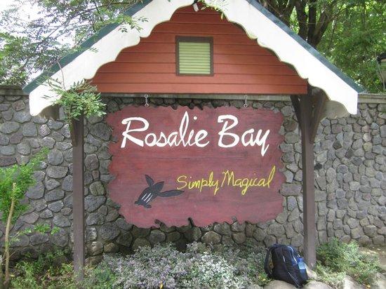 Rosalie Bay Resort: Resort entrance