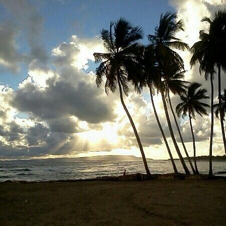 Nagua, Доминикана: Amanecer en la posita