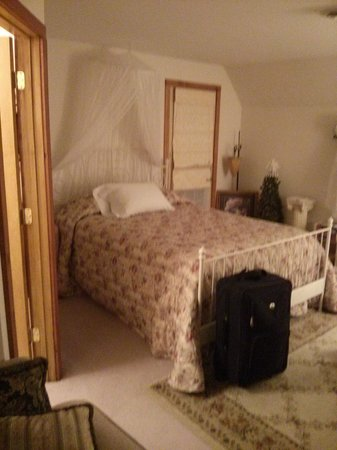 Ionia, IA: our beautiful room