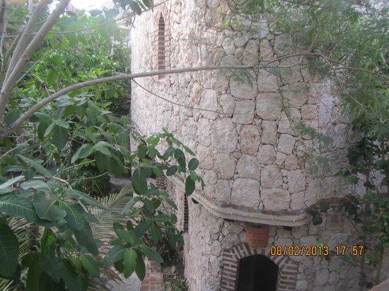 Guesthouse Las Piedras: Vista desde el balcon al interior del Hotel