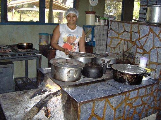 Pousada Rio Clarinho: The superb cook