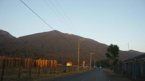 Paricutín Volcano: VISTA DE LOS CERROS CERCANOS
