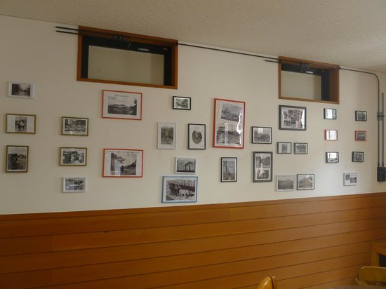 Ikaho Onsen : the exhibition space - their old time photos