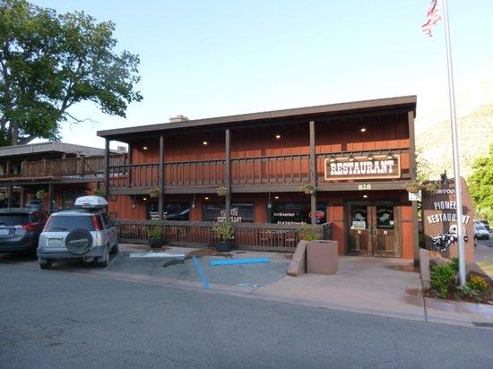 The Historic Pioneer Restaurant: 1