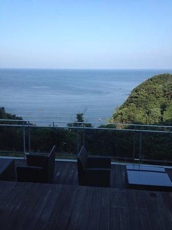 Hotel Clover Fuuka: ロビーからの景色