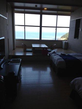 Hotel Clover Fuuka: 部屋は海側で、眺め良かったです。