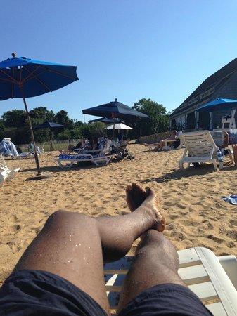 Gurney's Montauk Yacht Club: Private beach