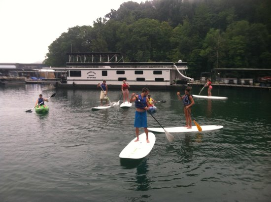 Norris Paddling Adventures: the group