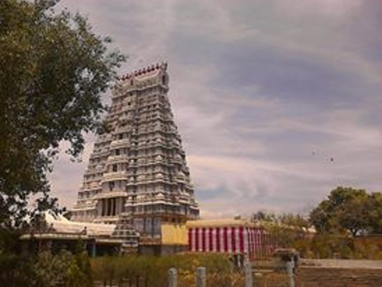 Srivilliputhur, India: temple tower