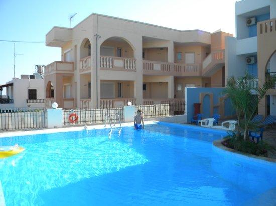 Esplanade Hotel Apartments: Udsigt fra vores lejlighed