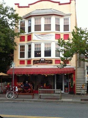 Jon & Patty's Coffee Bar & Bistro: Exterior, Aug. 2013