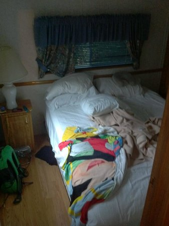Cherry Hill Park Campground: Trailer bedroom
