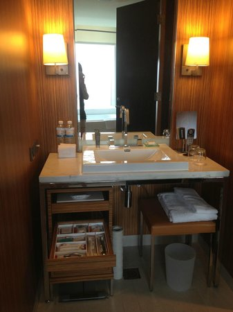 The Landis Taichung : 房間的浴室