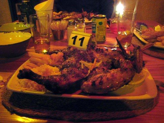 Tambarina Guest House & Restaurant: Peri-Peri Chicken