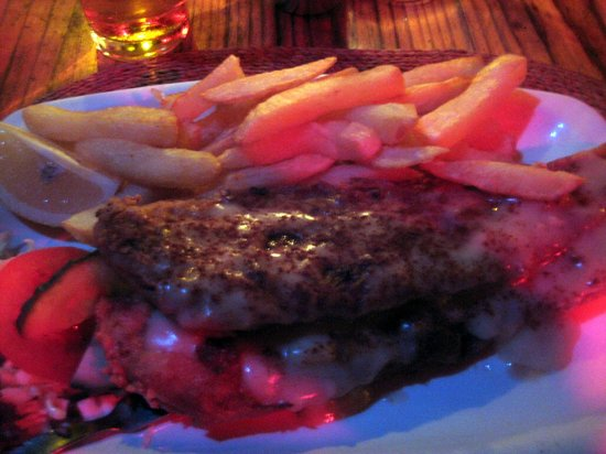Tambarina Guest House & Restaurant: Fish and Chips