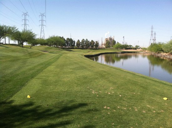ASU Karsten Golf Course: Hole 16